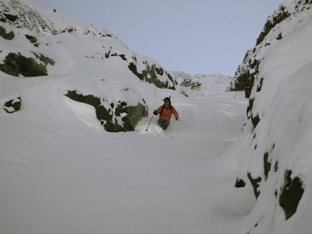 Chirouze, La Grave, France, Freeride, Off-piste skiing